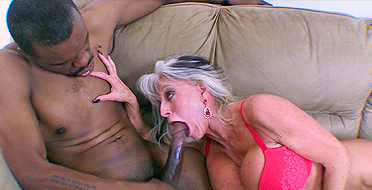 Granny loves big black dick